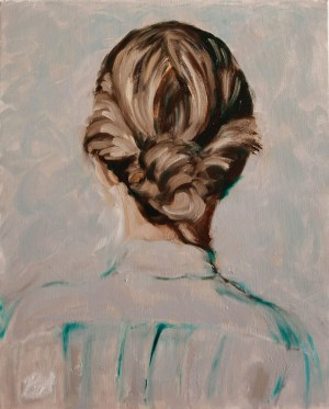 Blanka Adamus (ur. 1988), Od tyłu głowy, 2021