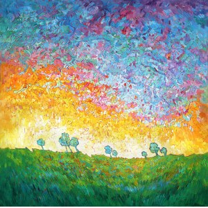 Monika Siwiec (ur. 1995), Open sky, 2021