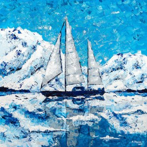 Anna Stępień (ur. 1982), Arktyczna przygoda, 2021