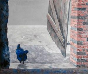 Jan Bembenista (ur. 1962), Niebieska kura, 2021