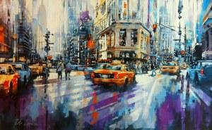 Piotr Zawadzki (ur. 1971), Metropolis - New York Sun II, 2021