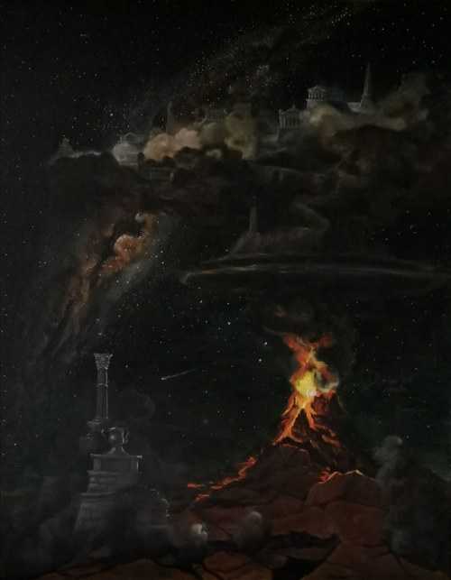 Michał Lisowski (ur. 1996), Wybuch Góry Olimp, 2020
