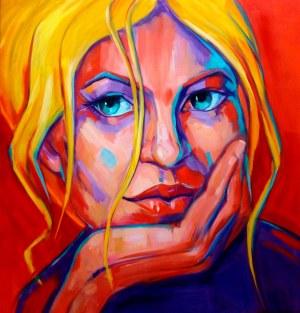Marzena Hettich-Uryszek (ur. 1969), Blonde, 2021