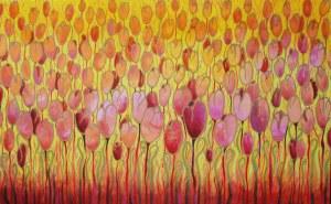 Beata Gaudy (ur. 1989), Tulipany. Poranek, 2021