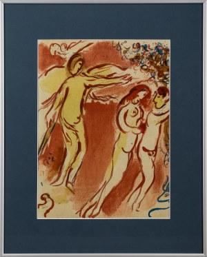 Marc Chagall, Adam i Ewa wygnani z Raju (Dessins pour la Bible)