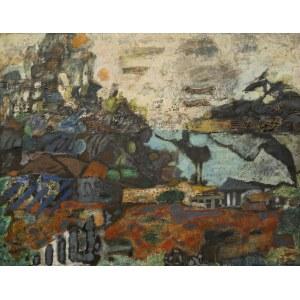 Jan SZANCENBACH (1928 - 1998), Pejzaż, 1968