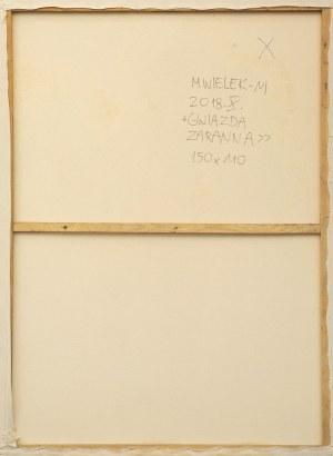 MAŁGORZATA WIELEK-MANDRELA (ur. 1976), Gwiazda zaranna, 2018