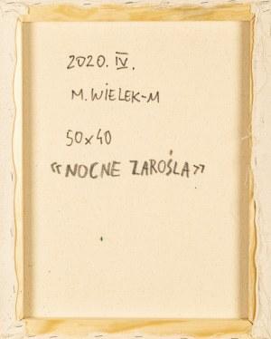 MAŁGORZATA WIELEK-MANDRELA (ur. 1976), Nocne zarośla, 2020,