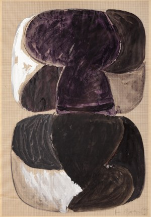 Jan BERDYSZAK (1934 - 2014), Kompozycja XVI, 1962