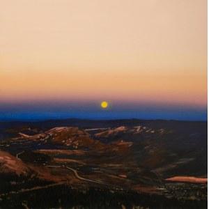 Piotr SZCZUR (ur. 1987), A sunrise over a valley, 2020