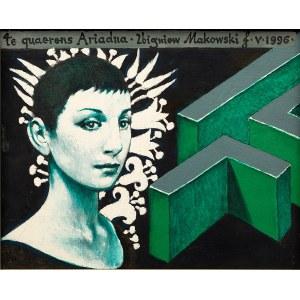 Zbigniew MAKOWSKI (1930 - 2019), Te quaerens Ariadna, 1996