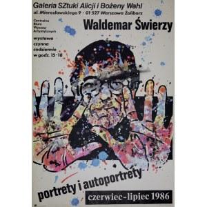 proj. Waldemar ŚWIERZY (1931-2013), Plakat do wystawy własnej