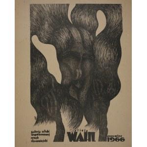 proj. Alicja WAHL (ur. 1932), Plakat do wystawy własnej