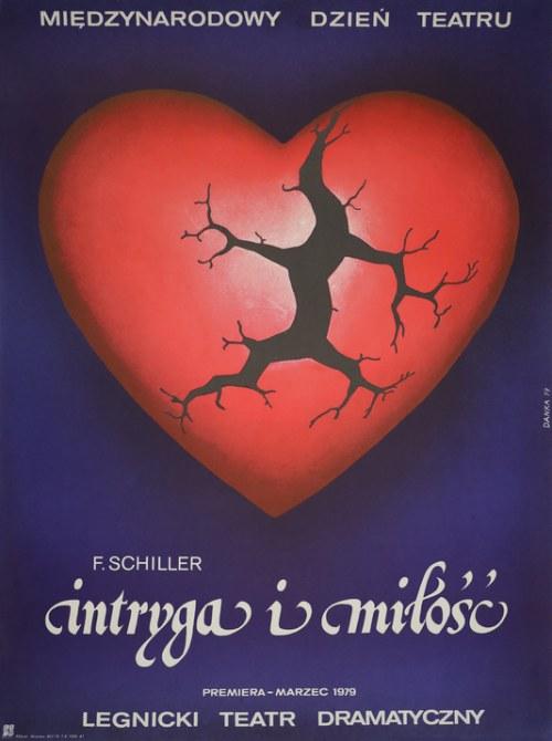 Plakat dla legnickiego Teatru Dramatycznego - Międzynarodowy Dzień Teatru