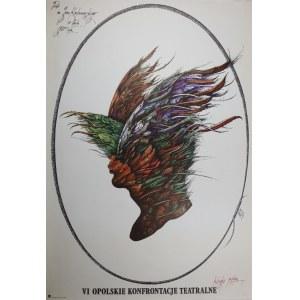 proj. Eugeniusz GET-STANKIEWICZ (1942 - 2011), Plakat VI Opolskie Konfrontacje Teatralne