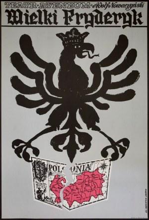 proj. Hubert HILSCHER (1924-1999), Plakat do spektaklu