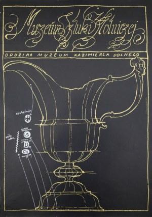 proj. Franciszek STAROWIEYSKI (1930-2009), Plakat dla Muzeum Sztuki Złotniczej