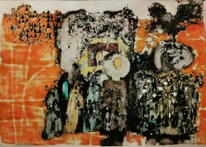Leopold PĘDZIAŁEK (1925-1994), Życzenia włościan, 1988