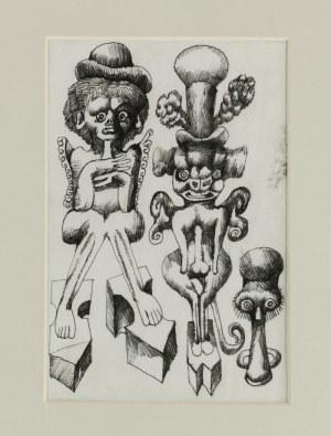 Jan LEBENSTEIN (1930-1999), Postacie bestiarne