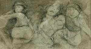 Ryszard OPALIŃSKI (ur. 1947), Szkice postaci kobiecych, 1999