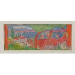 Jan HRYNKOWSKI (1891-1971) - przypisywany, Kąpiące się