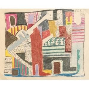 Maria RITTER (1899-1976), Kompozycja abstrakcyjna, lata 60.-70. XX w.