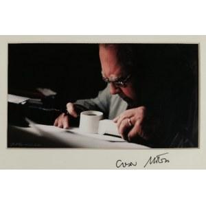 Judyta PAPP (ur. 1977), Czesław Miłosz przy pracy, 2002