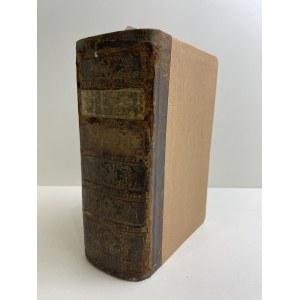 Le Prince de Beaumont DOKONCZENIE MAGAZYNU PANIENSKIEGO CZYLI NAUKI DLA DAM DOROSŁYCH NA SWIAT WYCHODZĄCYCH ZABIERAIĄCYCH SIĘ DO STANU MAŁŻENSKIEGO..., wyd.1773
