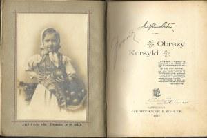 Bełza Stanisław Obrazy Korsyki, wyd.1897 - Ilustracje NAPOLEON
