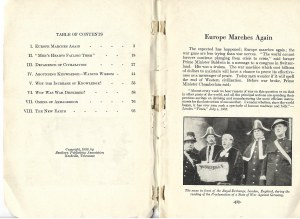 Shultz James Earl EUROPE MARCHES AGAIN