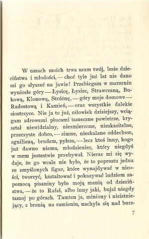 Żeromski Stefan PUSZCZA JODŁOWA, wyd.1926