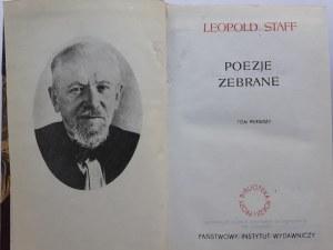 Staff Leopold POEZJE ZEBRANE