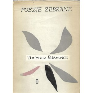 Różewicz Tadeusz POEZJE ZEBRANE