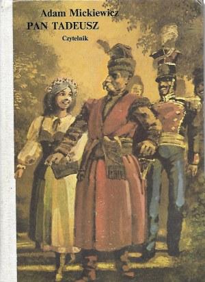 Mickiewicz Adam PAN TADEUSZ ilustracje Janusz Stanny