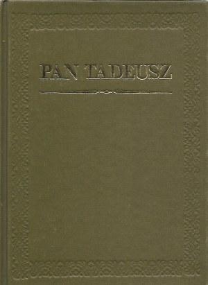 Mickiewicz Adam PAN TADEUSZ ilustracje M.E.Andriollego, Wyd.Czytelnik