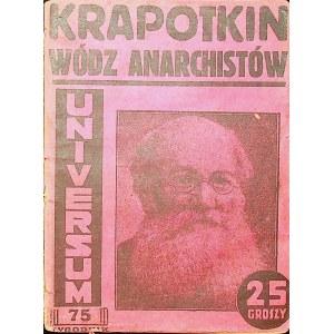 DOMAŃSKI Piotr Kropotkin wódz anarchistów.