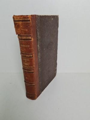 GONCOURT Edmond et Jules, de - Histoire de Marie-Antoinette. [Wyd. 2, przejrzane i uzupełnione]. Paris 1857