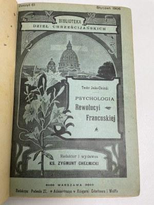 JESKE-CHOIŃSKI Teodor - Psychologia Rewolucyi Francuskiej. Warszawa 1906