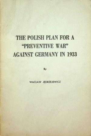 JĘDRZEJEWICZ Wacław- The Polish Plan for a