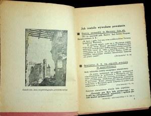 POWSTANIE Warszawskie. Fakty i dokumenty. [Warszawa] maj 1945.