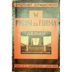 NOWAKOWSKI Zygmunt - W pogoni za formą.