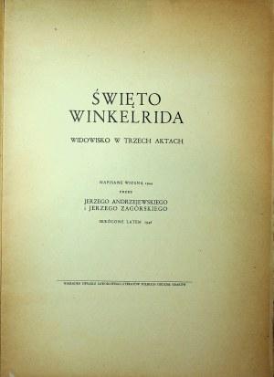 ANDRZEJEWSKI Jerzy ZAGÓRSKI Jerzy - Święto Winkelrida