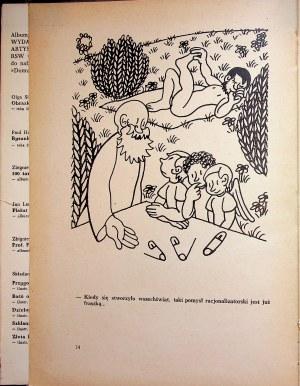 Effel Jean ADAM W RAJU Zbiór rysunków artystycznych