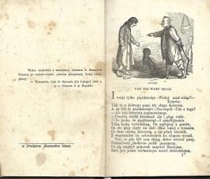 Krasicki Ignacy SATYRY Wyd.1863 ILUSTRACJE
