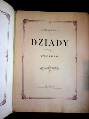 Mickiewicz Adam DZIADY ilustracje JANKOWSKI