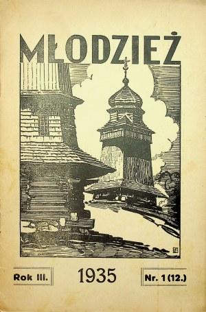MŁODZIEŻ DROHOBYCZ Nr 1 1935 Pismo Gimnazjum [Bruno Schulz]