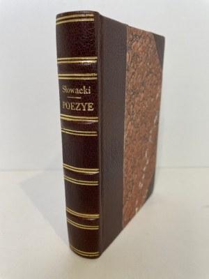 Słowacki Juliusz POEZYE PARYŻ 1832