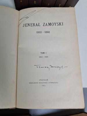 JENERAŁ Zamoyski [ZAMOYSKI Władysław] 6 tomów KOMPLET