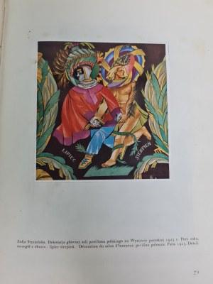 Warchałowski POLSKA SZTUKA DEKORACYJNA L'ART DECORATIF MODERNE EN POLOGNE / Stryjeńska Oprawa sygnowana H.Karpińska