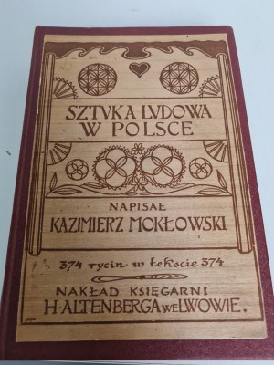 MOKŁOWSKI Kazimierz SZTUKA LUDOWA W POLSCE
